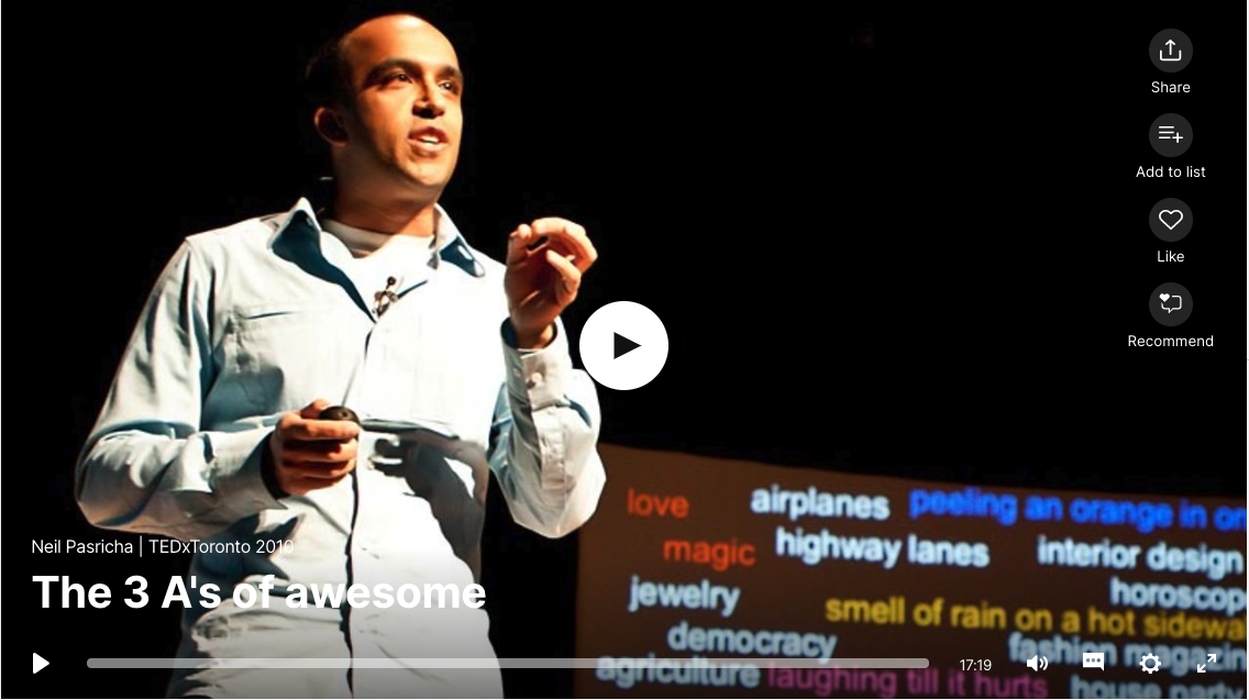 This talk was presented to a local audience at TEDxToronto 2010, an independent event. TED's editors chose to feature it for you.